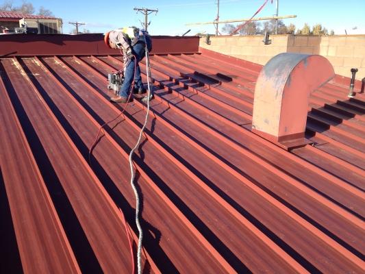 New Metal Panel Roof